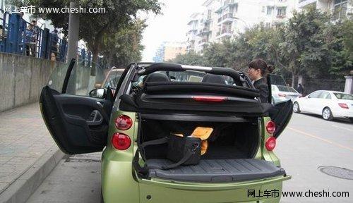 奔驰smart敞篷版的使用感受分享高清图片