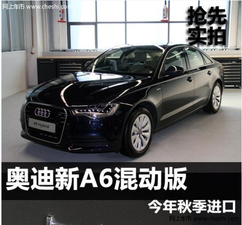 全新奥迪A6混合动力版今年秋季进口高清图片