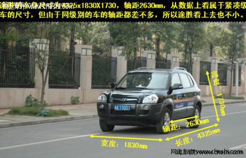 北京现代途胜自动挡外观介绍高清图片