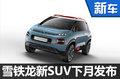 雪铁龙全新SUV下月发布 将在华国产-图