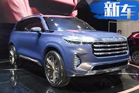 星途VX大七座SUV实拍 内饰酷似奔驰4月将上市