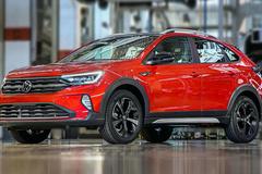 大众全新SUV Nivus实拍 搭1.0T引擎/车尾像途昂