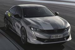 标致508新车型曝光!造型凶悍 1.6T混动性能超强
