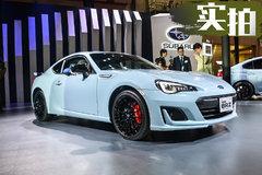 斯巴鲁最强性能跑车 东京车展实拍BRZ STI Sport