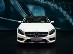 新CL级的继任者 奔驰S级Coupe日内瓦实拍