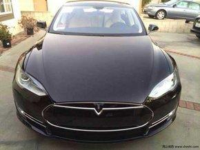 14款高级电动汽车特斯拉 现车促销中图片