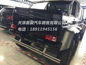 """内饰方面,   奔驰g63amg   六轮奔驰g63 amg""""皮卡""""的配置高清图片"""