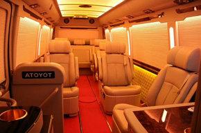 丰田考斯特 高端商务车销售改装案例解析-图11