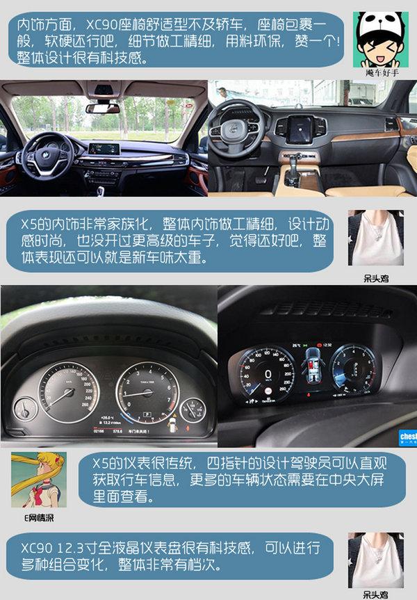 专治买车纠结症 宝马X5 28i对沃尔沃XC90-图3