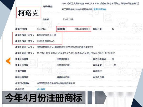 """斯柯达国产KAROQ明日首发 中文命名""""柯珞克""""-图2"""