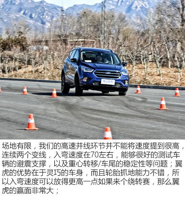 '屌丝的逆袭' 福特翼虎性能测试对比Macan-图8