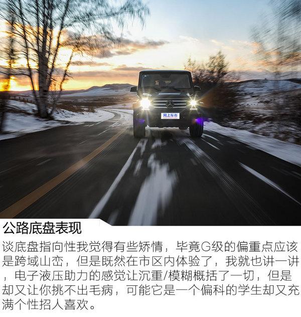勇敢坚毅无出其右 冰雪试驾2017款奔驰G500-图6