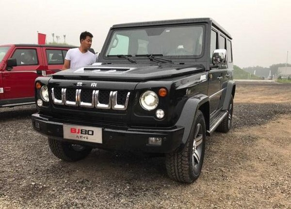 北京BJ80阅兵纪念版上市 限量发售200台-图7