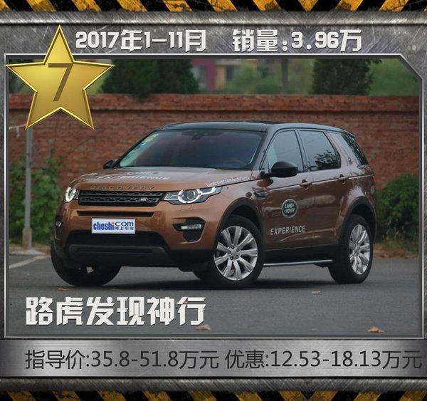 这十款豪华SUV最热销!11月最高降价近20万元-图11