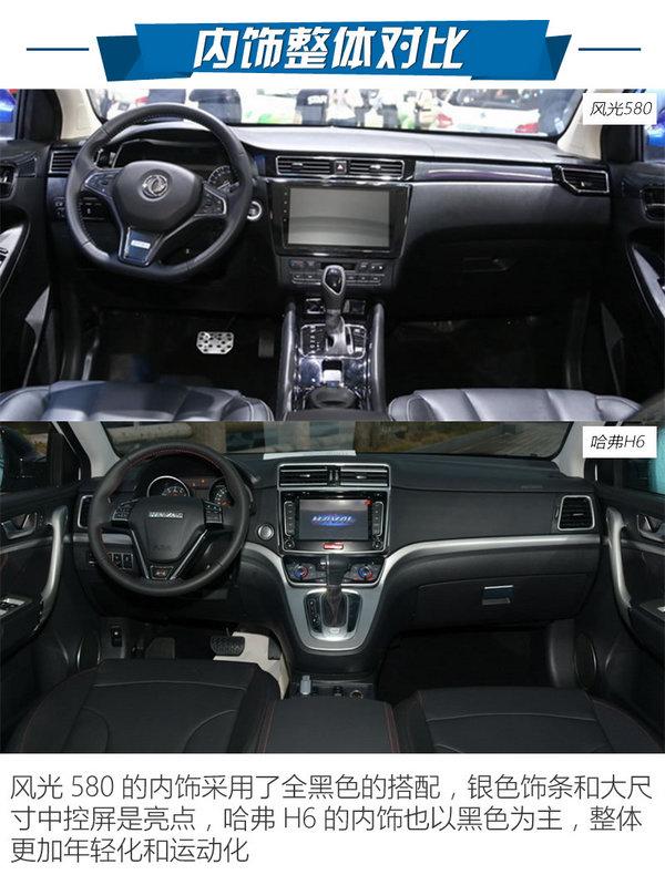 10万级自动挡SUV怎么选 风光580对比H6-图9
