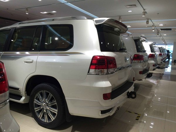 16款丰田酷路泽4000V6专卖 口碑最好SUV-图4