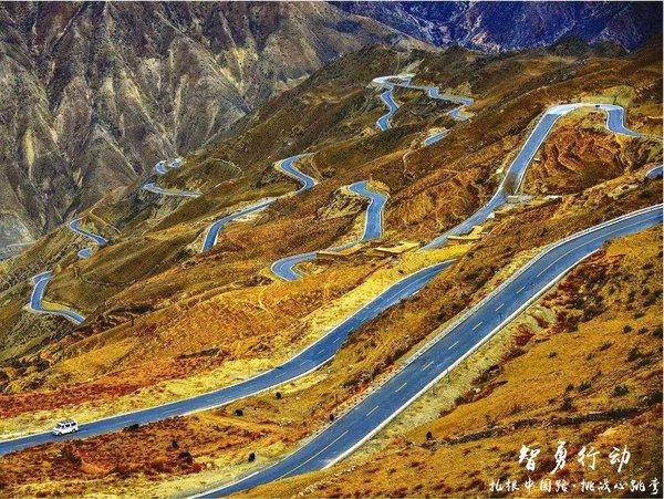 """没去过这些路你也能说喜欢自驾?——盘点中国十大""""最弯""""公路-图17"""