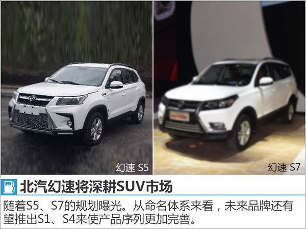 北汽幻速将推2款SUV 旗舰车型首搭2.0T-图3