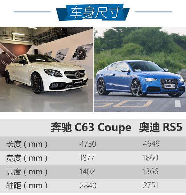 奔驰C63 Coupe奥迪RS5 选涡轮还是自吸-图3