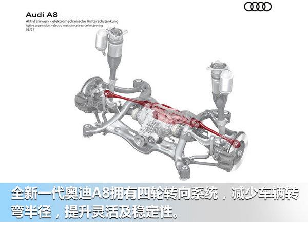 奥迪正式发布新一代A8 明年将引入加长车型-图11