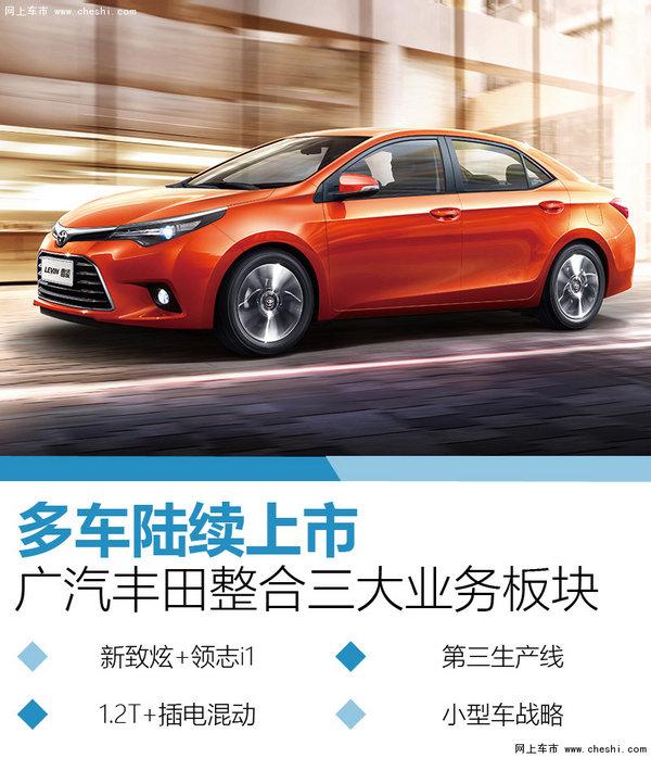 广汽丰田整合三大业务板块 多车陆续上市-图1