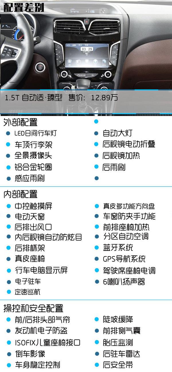 首选1.5T 自动适享型 海马V70购买推荐-图5