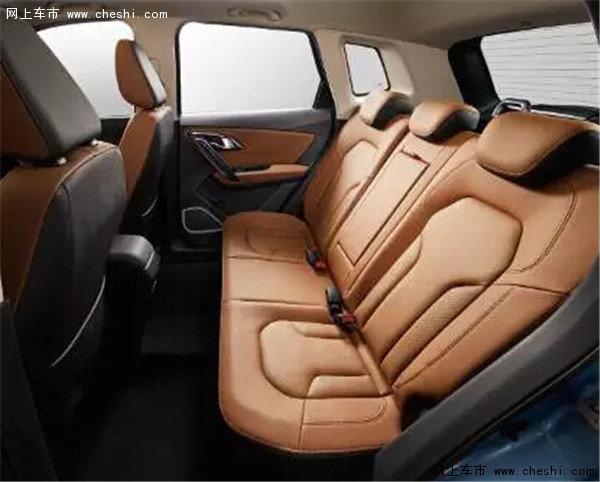 一汽自主SUV战略车型森雅R7正式上市-图8