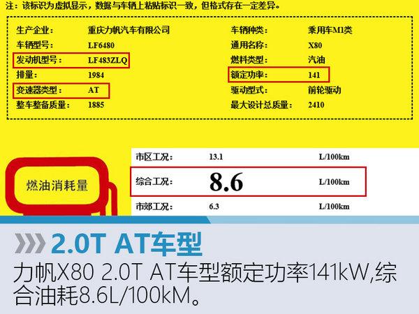 """力帆版""""汉兰达""""7月上市 搭2.0T发动机-图3"""