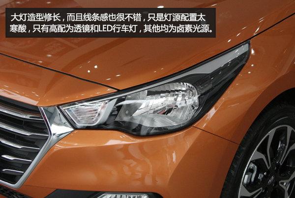 紧凑新选择 静态体验北京现代悦纳-图5