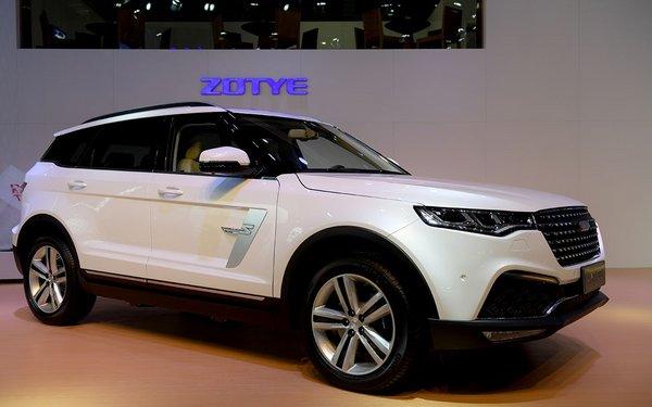 13款车型发布众泰汽车2017上海车展纪实-图1
