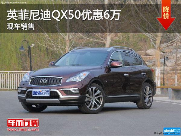 英菲尼迪QX50优惠6万 降价竞争奥迪Q5-图1