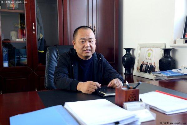 专访瑞诚二手车市场总经理池朝辉先生-图1