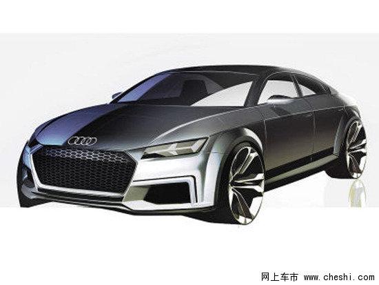 四门版奥迪TT概念车设计图曝光 更加实用_奥迪TT_进口新车-网上车市