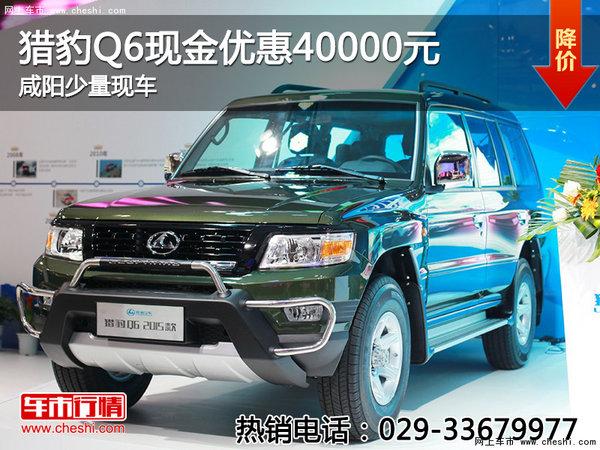 猎豹Q6现金优惠40000元 咸阳少量现车-图1