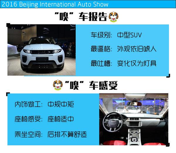2016北京车展 新款奇瑞路虎揽胜极光实拍-图1