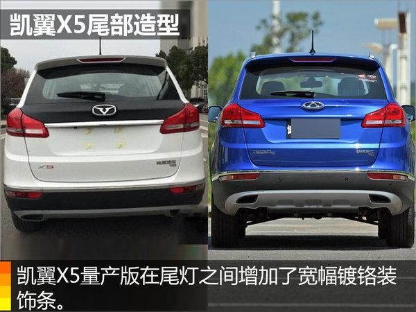 凯翼X5/全新SUV车型 搭4种动力组合-图7