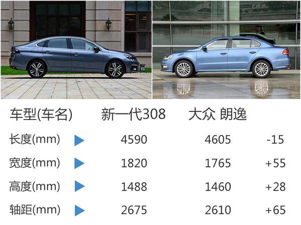 新一代东风标致308今日上市 预售10.8万-图1