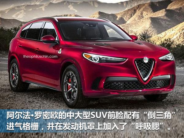 阿尔法•罗密欧全新大SUV将入华 竞争宝马X5-图1