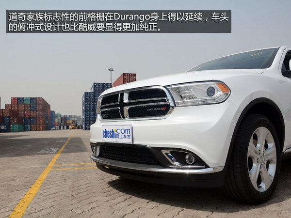 道奇旗下一款全尺寸suv车型,durango的车身大气饱满,力量感十高清图片
