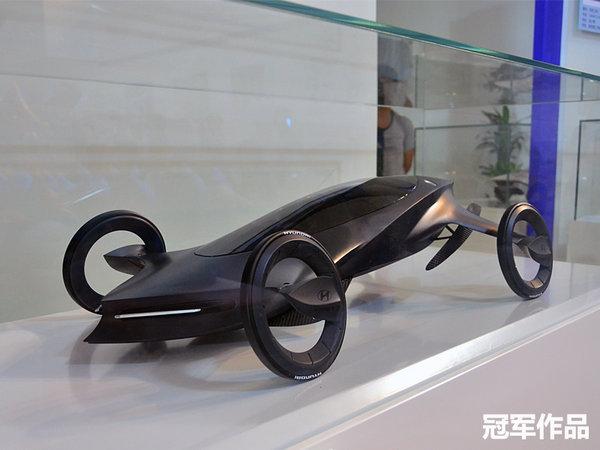 """来自未来的汽车 2014现代汽车设计大赛   本届大赛以""""雕塑自然"""