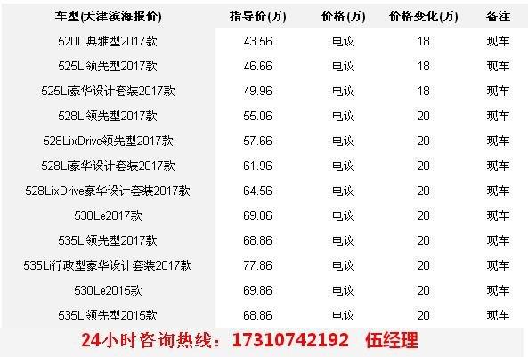 全新宝马5系最新行情 年底冲量让利18万-图2