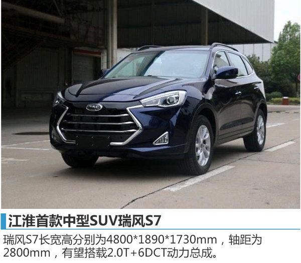 江淮2017年将全线齐发力 多款SUV将上市-图2
