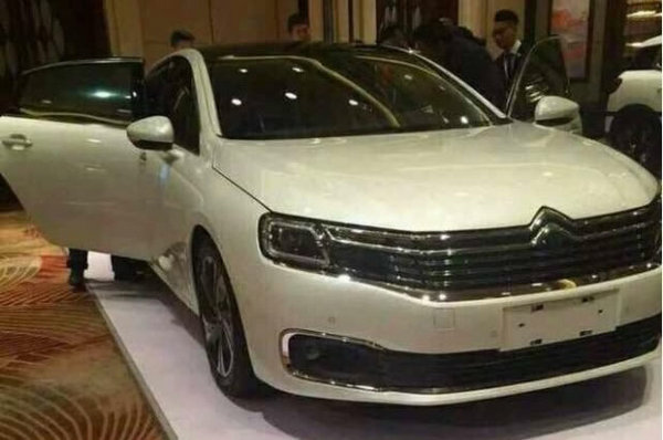 曝雪铁龙新C6最新实车图 北京车展亮相-图2
