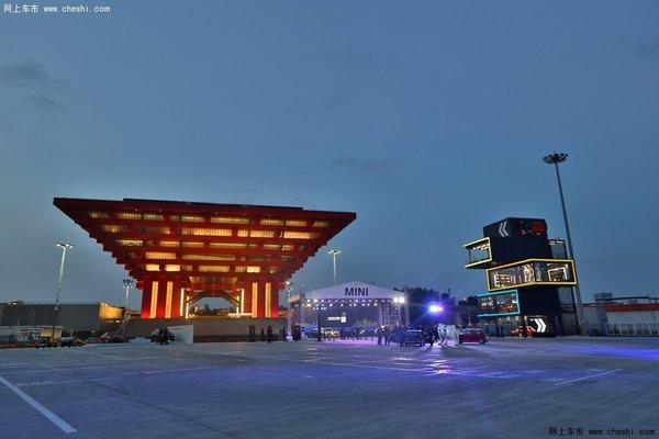 纵向空间尽情展示mini范儿   上海mini品牌体验中心是全球高清图片