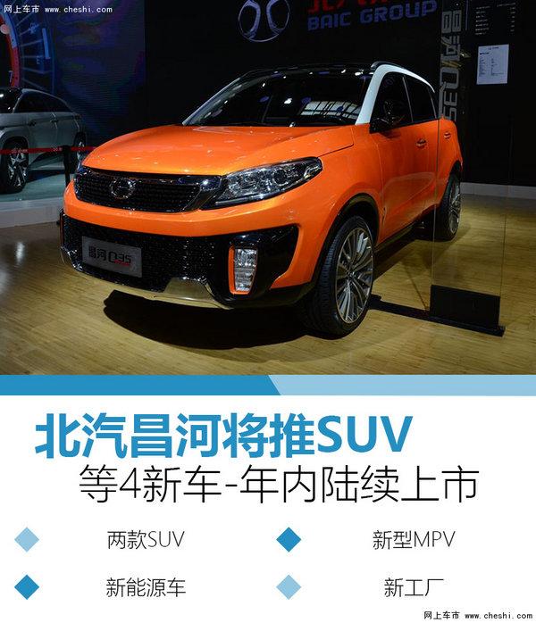 北汽昌河將推SUV等4新車 年內陸續上市-圖1