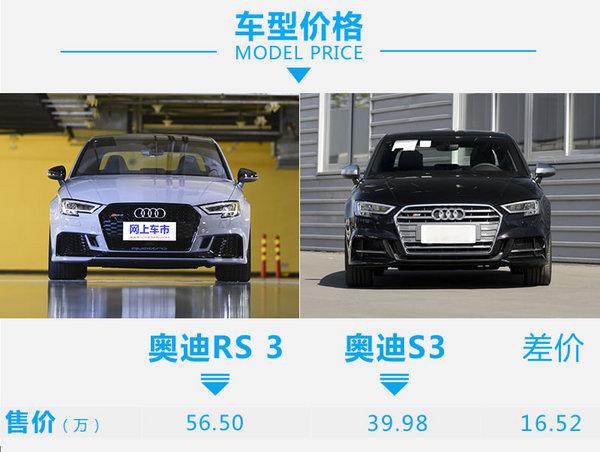 相差16万你会考虑谁?奥迪RS 3对比奥迪S3-图2