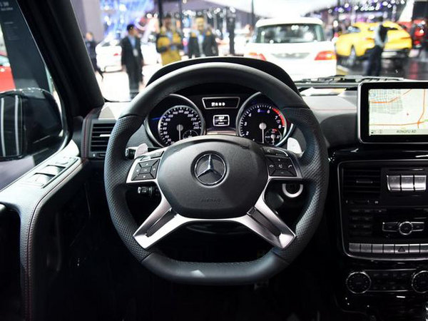2017款奔驰G500价格公布 G级越野新体验-图5