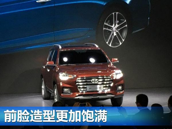 北京现代全新IX35正式发布 凸显硬朗风格-图2