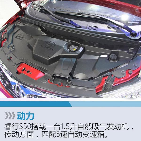 长安睿行S50正式发布 搭载1.5升发动机-图5