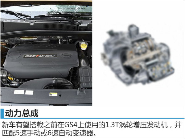 广汽传祺小型SUV明年推出 竞争哈弗H2-图1